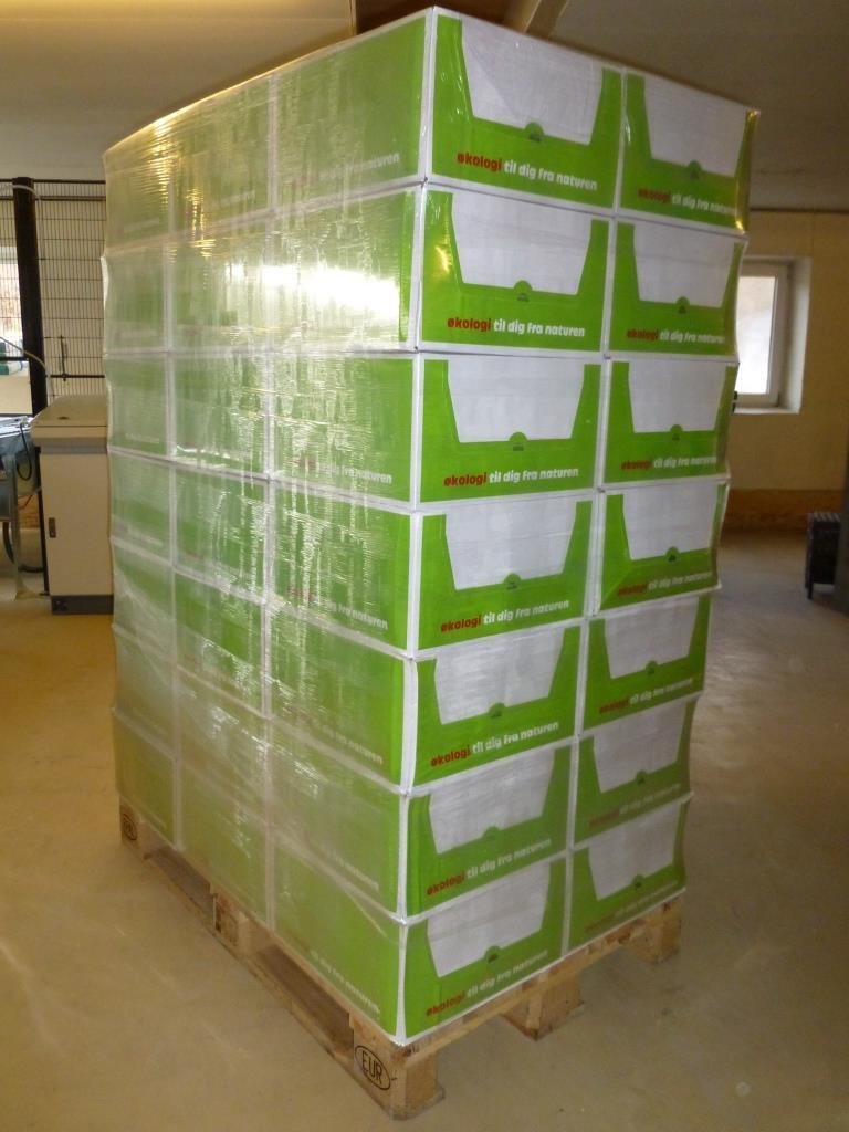 Helpalle - 42 kasser, 504 kg.